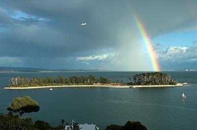 Haulashore Island, Nelson (as seen from my front door)