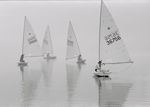 Sailing on Lake Ohakuri