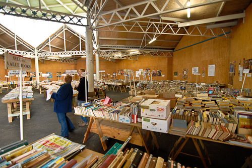 Quiet before the storm: Nelson's Founders Heritage Park Book Fair
