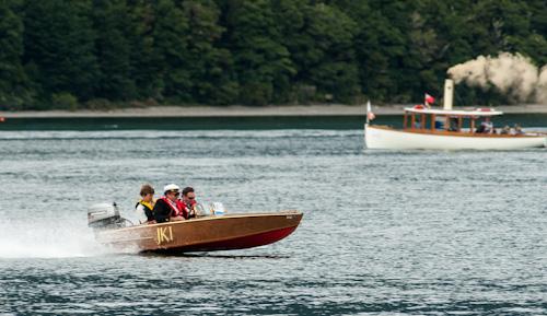 Classic boats Rotoiti